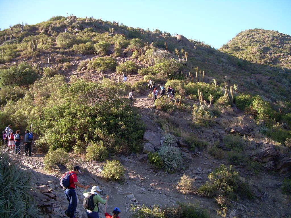 Taller de Excursionismo, Vallecito y laguna Carén ...